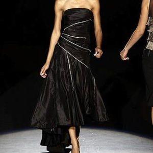 L.A.M.B BLACK ZIPPERED DRESS BY GWEN STEFANI
